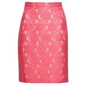 Coral Lace H&M Conscious Collection Skirt NWT